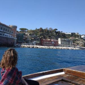 22 maggio :Tour in barca e visita al diavolo di Mergellina