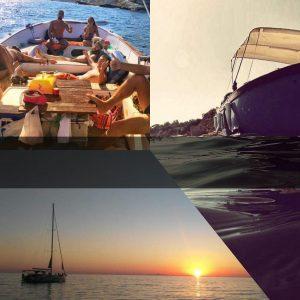 Tour in barca all'imbrunire con visita guidata